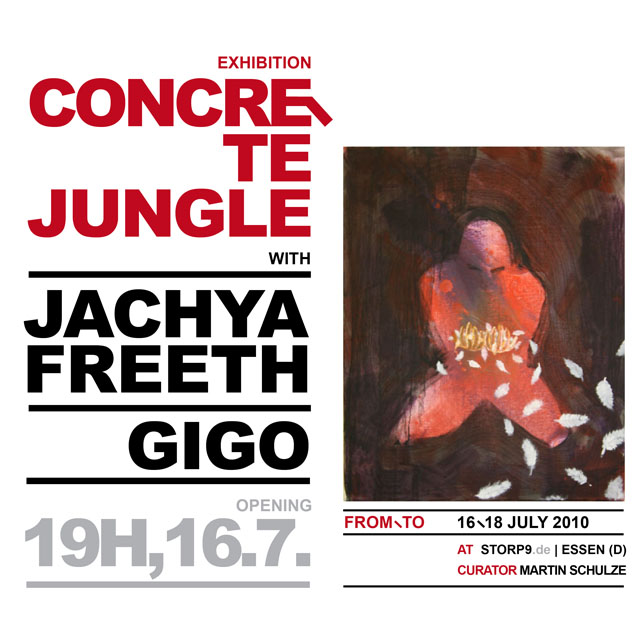 Concrete Jungle Exhibition - Jachya Freeth