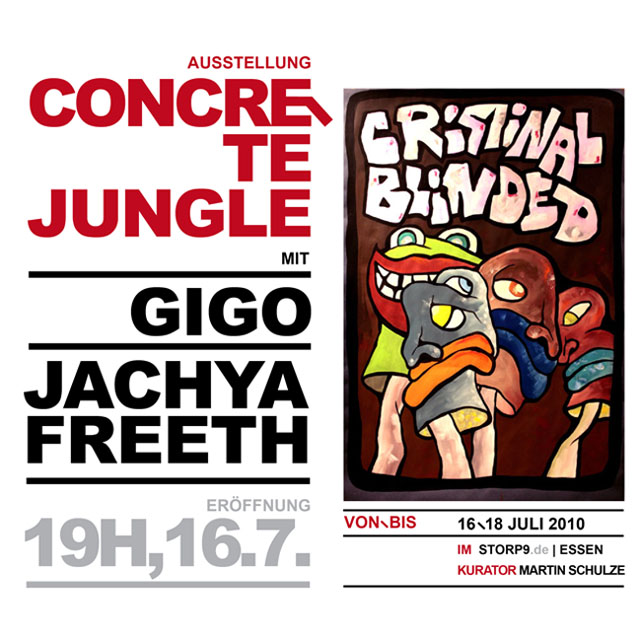 Concrete Jungle Exhibition - Gigo