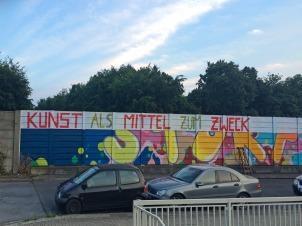 Kunst als Mittel zum Zweck, Essen, Germany, 2015